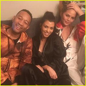 kourtney-kardashian-parties-with-john-chrissy-at-pj-party