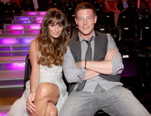 SANTA MONICA, CA - AUGUST 19: (L-R) Actors Lea Michele and Cory Monteith attend the 2012 Do Something Awards at Barker Hangar on August 19, 2012 in Santa Monica, California. (Photo by Christopher Polk/Getty Images for VH1)